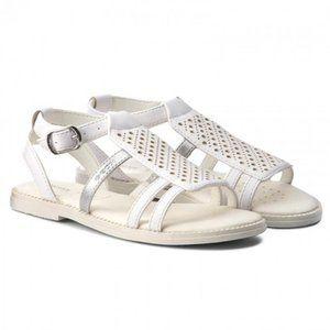 GEOX Girl Sandals Karly J7235F White